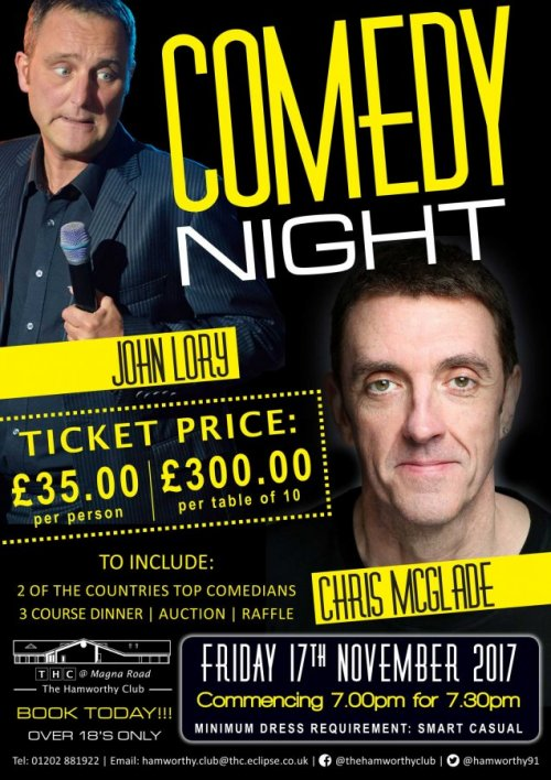 Ham Rec Comedy Night